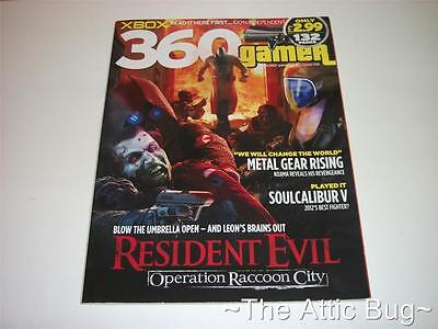 XBOX 360 Gamer Magazine ~ Issue 132 ~ Resident Evil Operation Raccoon City Cover