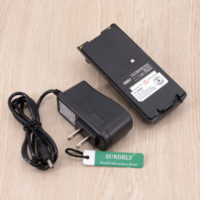 2700mAh BP-211N Battery + Charger for ICOM IC-A6 IC-A24 IC-V8 IC-V82 U82 LI-ION