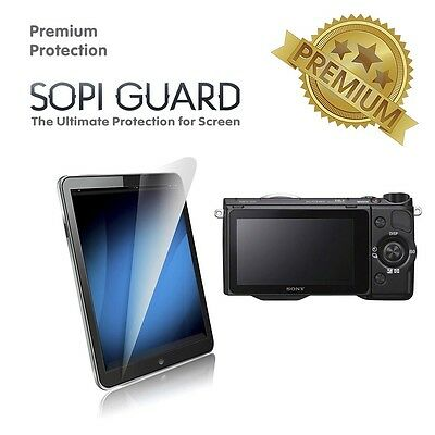 SopiGuard Premium Tempered Glass Screen Protector Sony NEX5R 5N