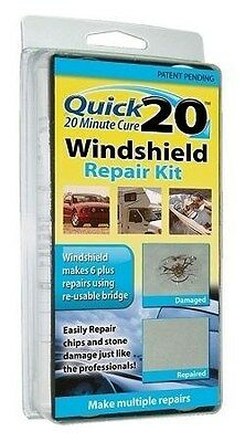 New Liquid Leather Quick 20 Windshield Repair Kit As Seen On TV Fast Shipping