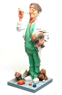 'The VETERNARIAN' Sculpture by Guillermo Forchino..Hand Made, Detailed & Painted
