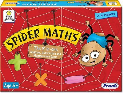 Spider Maths Fun Addition Game, Subtraction Game, Multiplication Game