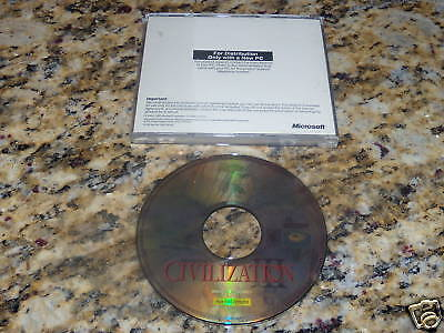 CIVILIZATION III SID MEIER'S PC COMPUTER GAME ( EXC. CONDITION ) LOW SHIPPING