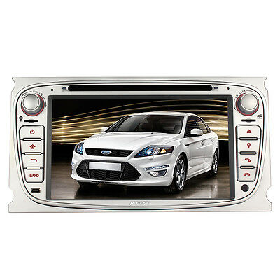 """7"""" Car Stereo DVD Player For Ford Focus 2007-2010 With GPS Navigation Radio RDS"""