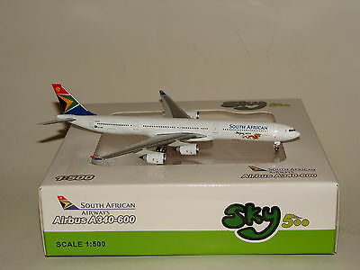 SkY 500 South African A340-600 Beijing 2012 Herpa 500 Scale free Shipping