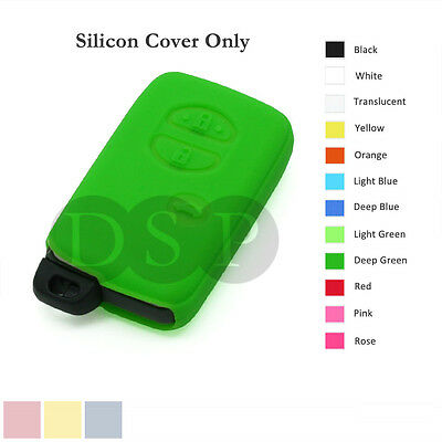 Silicone Cover Holder fit for TOYOTA Smart Remote Key Case Fob Entry 3 B 12C DG