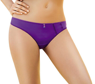 Laura Women's High Quality Deep Purple Thong #SL103095 Made in Colombia