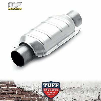 """Magnaflow 2.5"""" 200 CPI Metal Core Stainless Steel Cat Catalytic Converter Oval"""