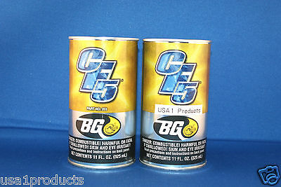 2 cans Bg products cf5  fuel system valve induction cleaner free shipping!!!
