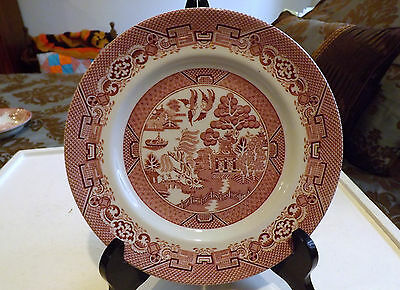 Wood & Sons England Salad Plate Red Willow 8 Inch