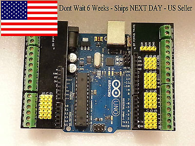 Arduino Screw Shield v2 - Sensor/Servo/Screw Terminal Shield-Fast Ship-US Seller