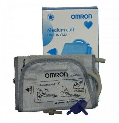 Omron Blood Pressure Monitor Upper Arm Children & Adults Medium Cuff 22-32cm CM2