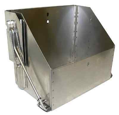 Stainless Steel Drop Down Battery Box For Group 24 Batteries