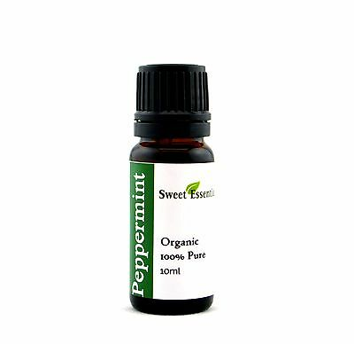 100% Pure Organic Peppermint Essential Oil - 10ml - Imported From France