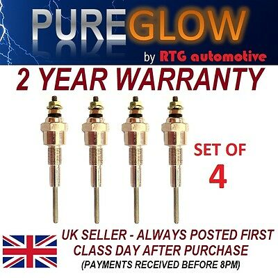 Diesel Heater Glow Plugs X4 Bmc 1.5 Tractor Leyland Nuffield Marshall + Others