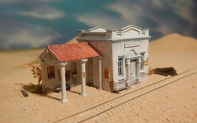 N Scale Depot at Frijole Flats Kit by Thomas A. Yorke & Showcase Miniatures(123)