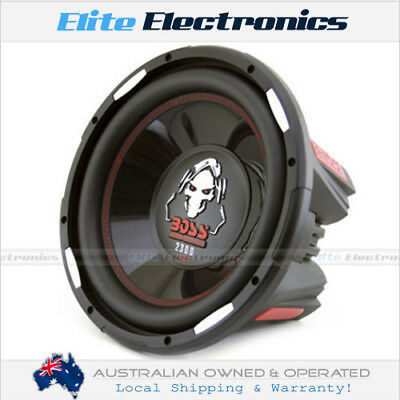 "Boss Audio P126Dvc Phantom 12"" 2300W Dual 4Ω Subwoofer Car Sub"