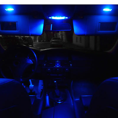 smd led innenraumbeleuchtung bmw e46 3er blau limo coupe. Black Bedroom Furniture Sets. Home Design Ideas