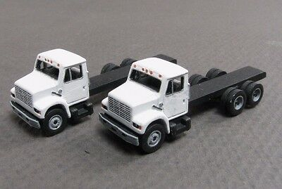 "N Scale ""I"" Type Builder's Pack Kit of 2 Work Trucks by Showcase Miniatures (44)"