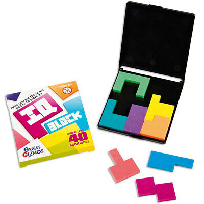 IQ Block Puzzle by Great Gizmos - Shape Brainteaser Puzzle for Children & Adults