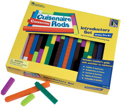 Connecting Cuisenaire Maths Counting Rods by Learning Resources