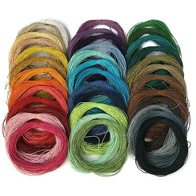1.5mm Wax Cotton Cord - Shamballa, Macrame, Jewellery- 10, 20, 40, 80 mtr (2C)