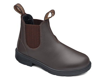 NEW BLUNDSTONE BROWN CHESTNUT 530 CHILDREN'S WORK BOOT all sizes
