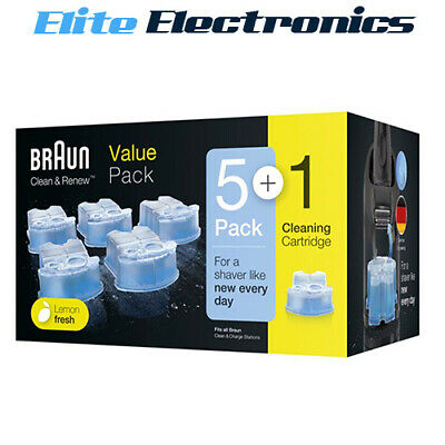 Braun Ccr2 4 Pack Shaver Clean & Renew Refill Cartridges 390Cc 570Cc 760Cc 790Cc