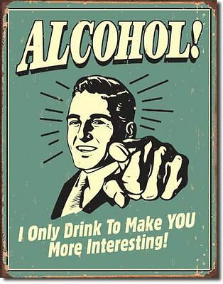 Alcohol  Collectable Tin Metal Signs Combined Postage For 2+
