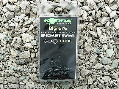 Karpfen Wirbel Angelwirbel Run Rig Korda Big Eye Swivels