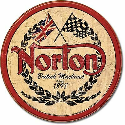 Norton British Machines  Collectable Tin Metal Signs Combined Postage For 2+