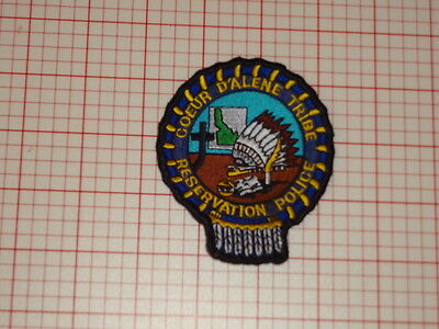 Coeur D'Alene Tribe Idago Reservation Police Patch