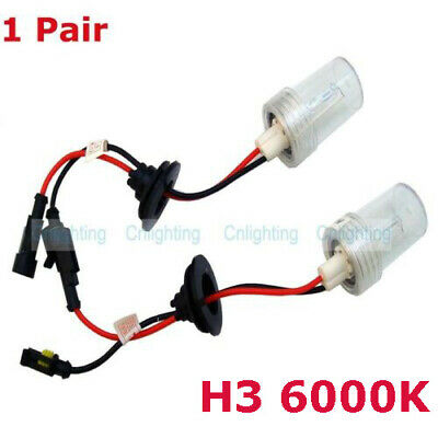 1 Pair 100W XENON HID REPLACEMENT BULB H1 H3 H7 H11 9005 9006 D2S GLOBE LAMP