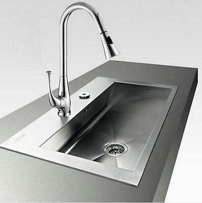 perfect Luxury chorme finish Pull Out Kitchen Sink Mixer Tap Faucet cah14