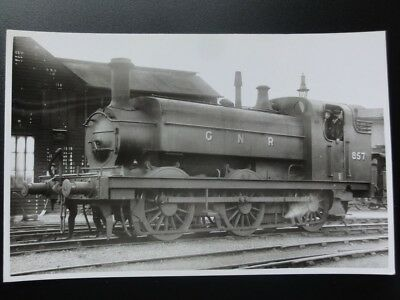 GNR Steam Locomotive No.857 Great Northern Railway RP Photocard