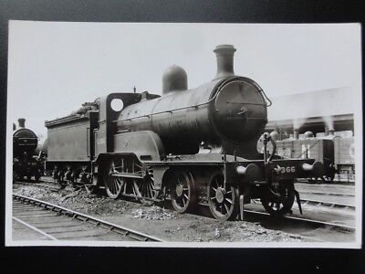 GNR Steam Locomotive No.1366 Great Northern Railway RP Photocard