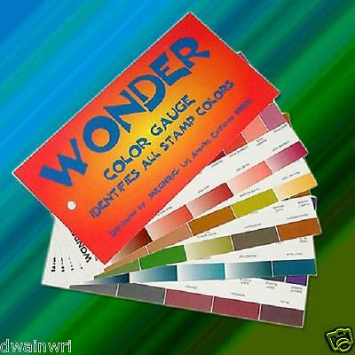 Wonder Color Gauge - 140 philatelic colors easily identified! FREE SHIPPING!