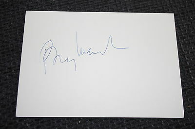 BARRY MANILOW signed Autogramm auf 10x15 cm Karteikarte InPerson LOOK