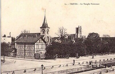 Cpa: Troyes/ Le Temple Protestant / Dpt Aube/ 10