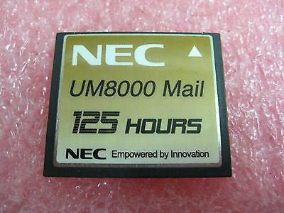 Nec Compact Flash Um8000 Mail 125 Hours