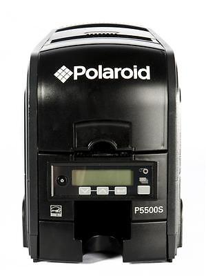 Polaroid P5500S Dual Sided Photo ID Card Printer