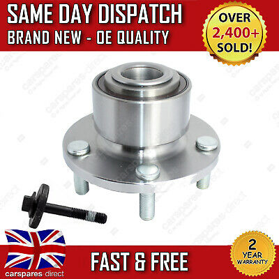 FRONT WHEEL BEARING FORD FOCUS MK2 FOCUS C-MAX + HUB WITH ABS 2003>on NEW