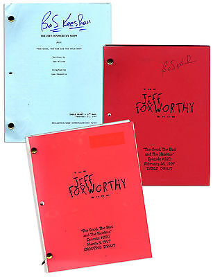 From Estate Captain Kangaroo Jeff Foxworthy Show Script
