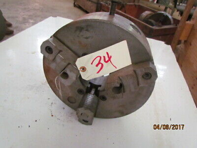 """Cushman 12"""" 3 jaw chuck for engine lathe Spindle mount D1-8"""
