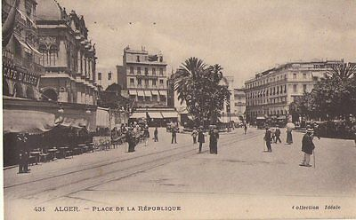 Cpa:  Alger/ Place De La Republique / Algerie