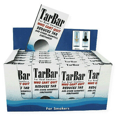 TarBar Cigarette Filter Tips 1-Box of 30 Filters