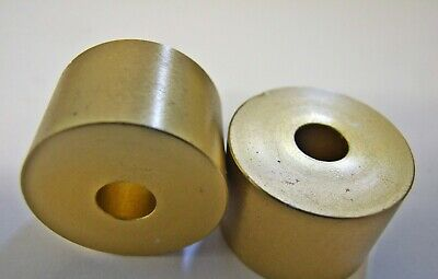 Aluminium Kart Seat Spacers / Washers 10 x 15mm (8.5mm hole) in Gold - TKM Rotax