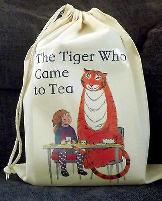 The Tiger who came to tea Empty Story Sack & Teaching Resources CD