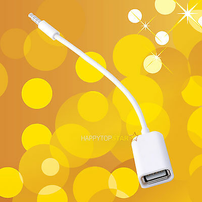 Best 3.5mm Male Audio Headphone Plug to USB 2.0 Female Jack Cable Cord Adapter