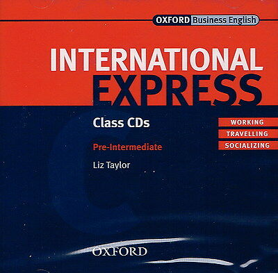 Oxford INTERNATIONAL EXPRESS Pre-Intermediate Class CD's | L Taylor @BRAND NEW@